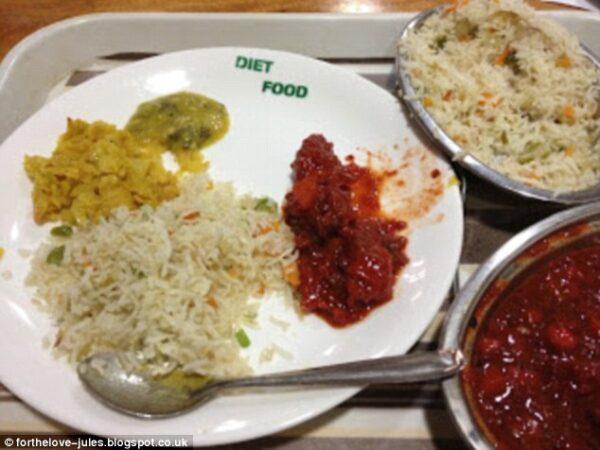 As comidas de hospitais ao redor do mundo