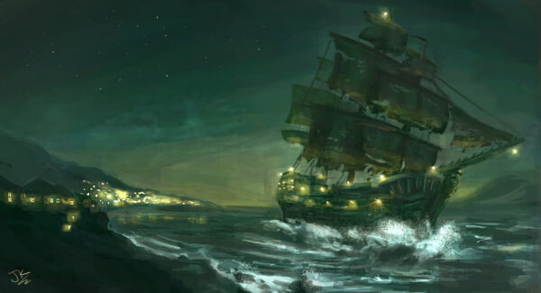 pirate_ship___the_night_cutter_by_badluckart-d6y7vke